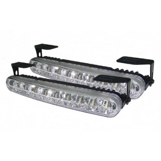 LED dienos žibintai KEETEC DRL 16 LED dienos žibintai