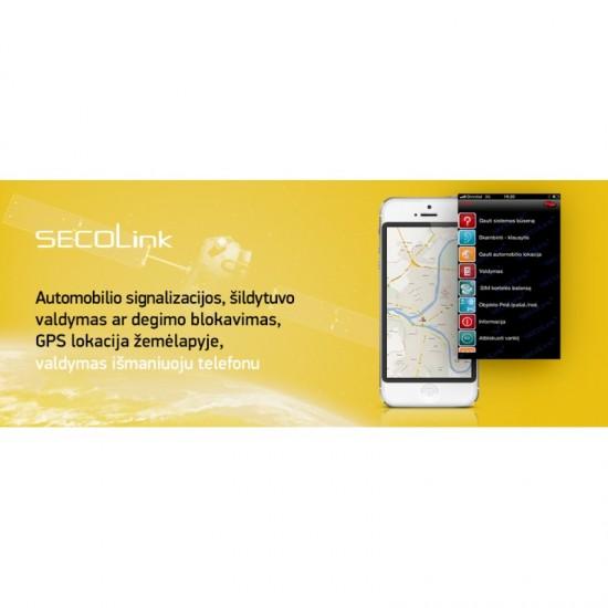 Automobilių apsaugos sistema GSW-CAN Automobilių apsaugos sistemos