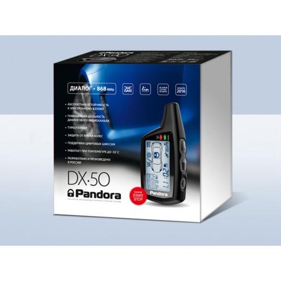 Automobilių apsaugos sistema Pandora DX-50B