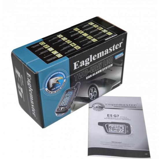 Dvipusio ryšio apsaugos sistema Eaglemaster E5 G7 Automobilių apsaugos sistemos