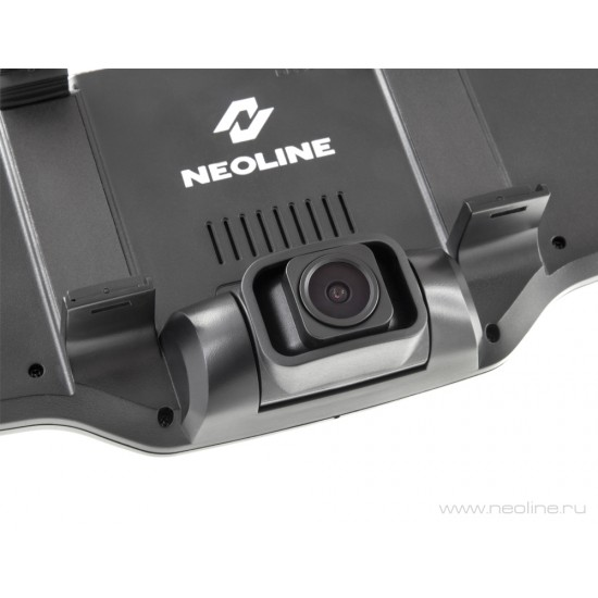 Registratorius veidrodyje ir galinio vaizdo kamera NEOLINE G-TECH X27, su GPS duombaze apie policijos radarus