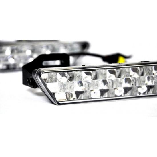 LED dienos žibintai NSSC 824 LED dienos žibintai