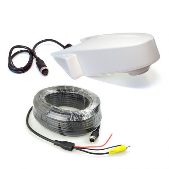 Universali atbulinės eigos kamera KV100-WHI Galinio vaizdo kameros