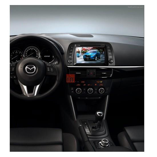 Mazda 6, CX-5 multimedijos centras Gamyklinio dizaino