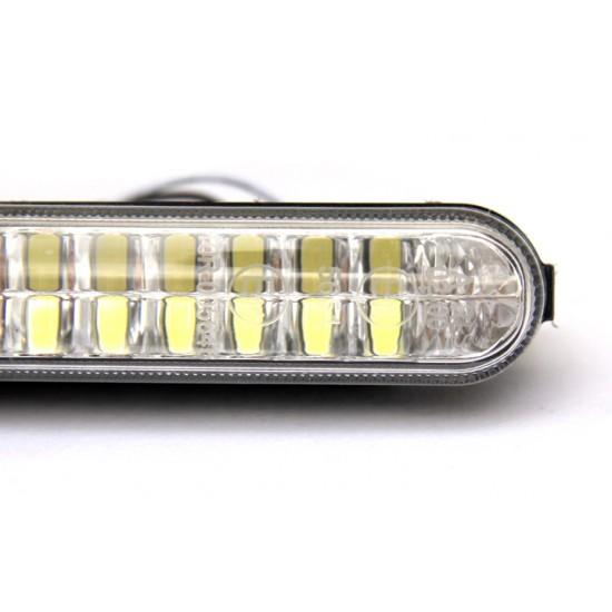 LED dienos žibintai KEETEC DRL 12 LED dienos žibintai