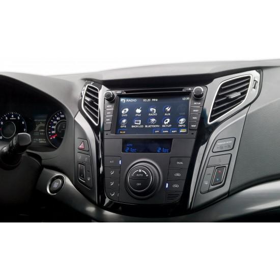 Hyundai i40 multimedijos centras Gamyklinio dizaino