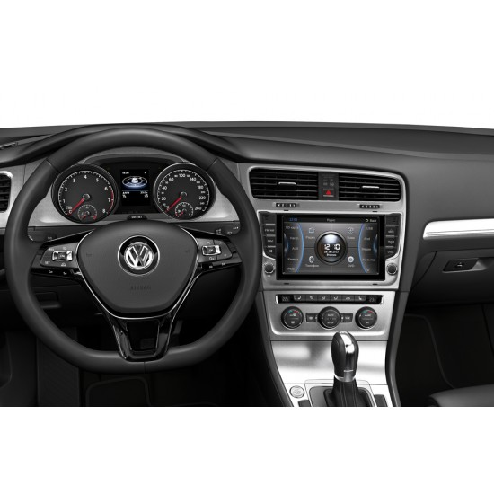 Volkswagen Golf 7 multimedijos centras Caska Gamyklinio dizaino