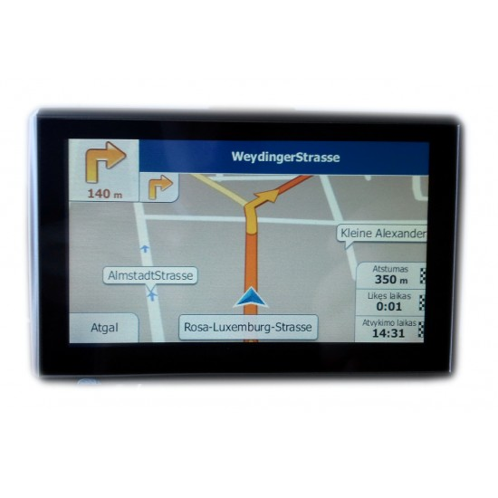 """GPS navigacija EURO GPS 5"""" Navigacija"""