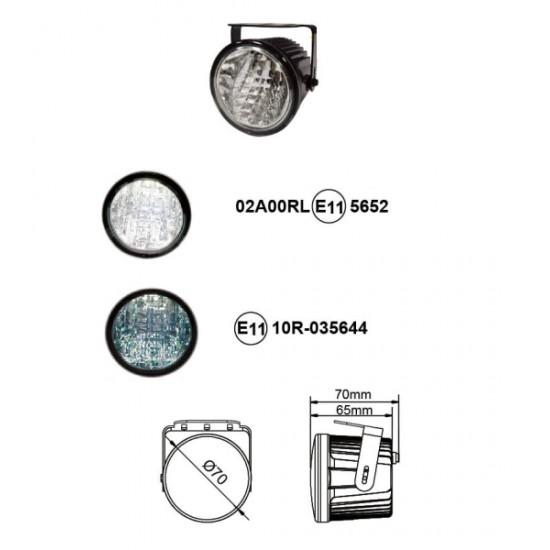 LED dienos žibintai JS-11309-WP LED dienos žibintai