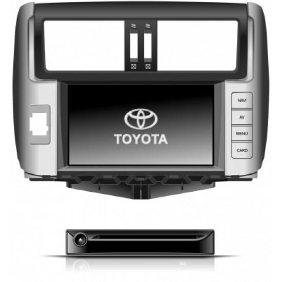 Toyota Land Cruiser 150 Executive multimedijos centras Flyaudio Gamyklinio dizaino