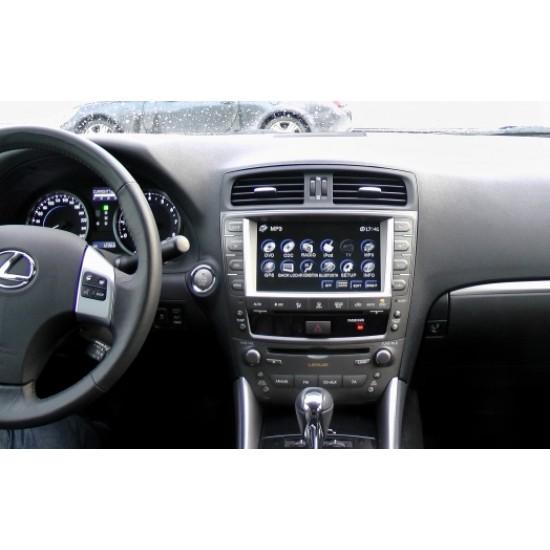 Lexus IS250 multimedijos centras Flyaudio Gamyklinio dizaino