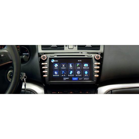 Mazda 6 Facelift multimedijos centras