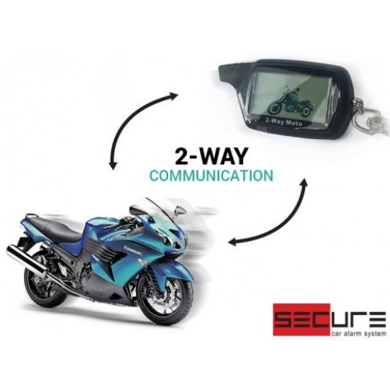 Motociklų apsaugos sistema Secure 2-Way MOTO Motociklų apsaugos sistemos