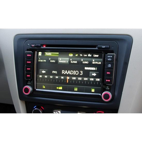 VW/Škoda/Seat universalus multimedijos centras Adayo Gamyklinio dizaino