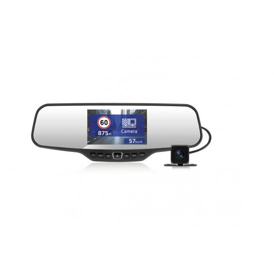 Registratorius veidrodyje ir galinio vaizdo kamera NEOLINE G-TECH X27 Vaizdo registratoriai